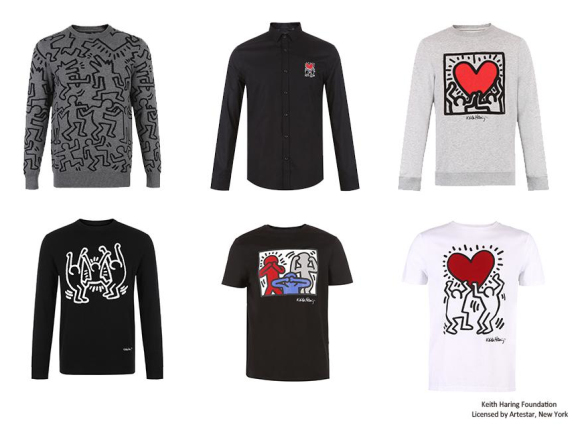 KEITH HARING x SELECTED 2018早春联名系列