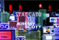 STACCATO×JEREMY SCOTT  三城限定店潮燃开启,Launch Party闪耀魔都