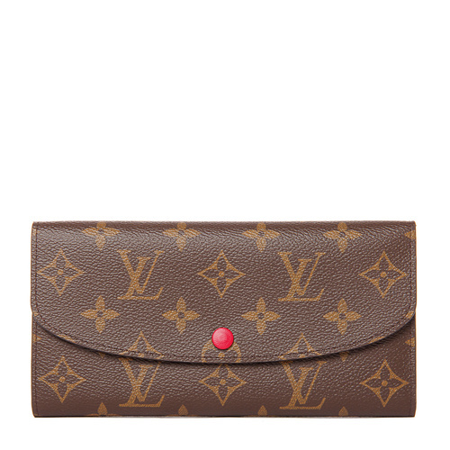 Louis Vuitton/路易威登 Emilie系列帆布女士钱包