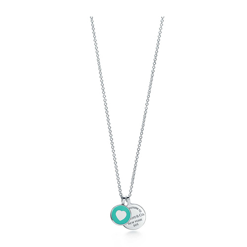 Tiffany & Co./蒂芙尼 Return to Tiffany™系列双圆形项链