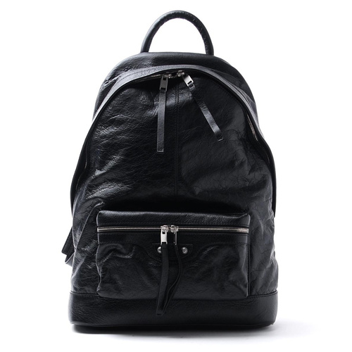Balenciaga/巴黎世家 男士羊皮黑色双肩包Backpacks 435315 DFHJ4 1000