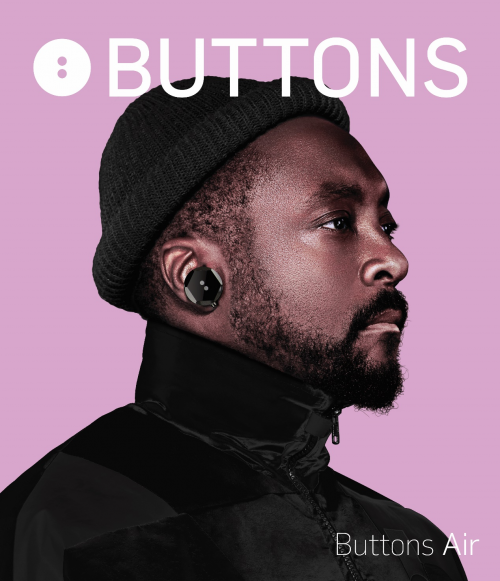 will.i.am用科技打造潮牌新宠BUTTONS耳机
