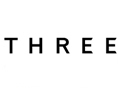 THREE(THREE)logo